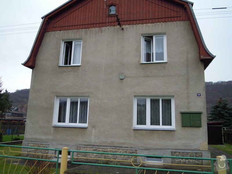 Zhotovení fasády rodinného domu.: DSCN0444