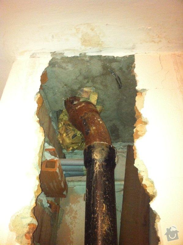 Výměna litinového potrubí: IMG_1270