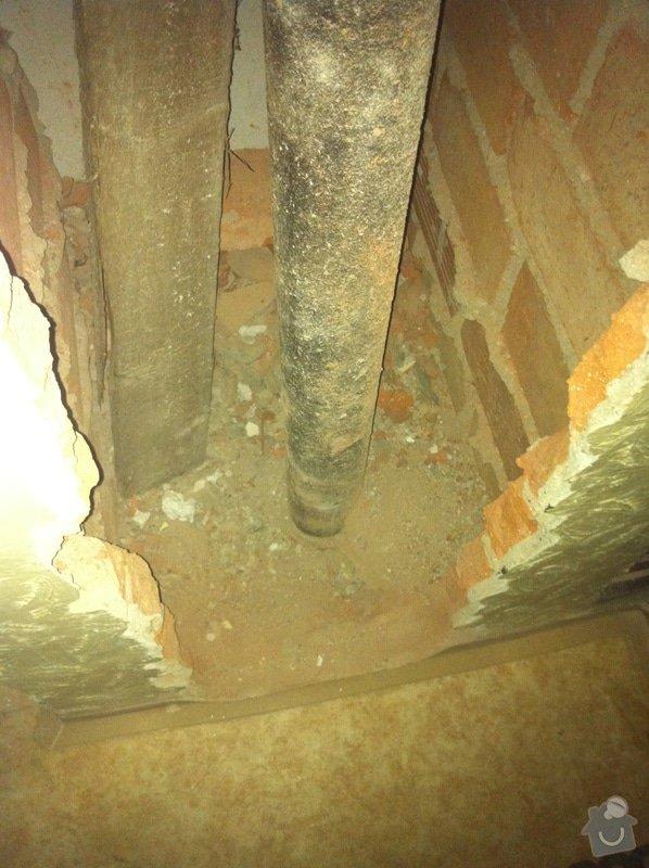 Výměna litinového potrubí: IMG_1271