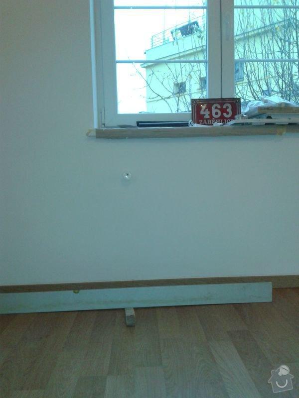Pokládku laminátové plovoucí podlahy: Obyvak_podlaha_I