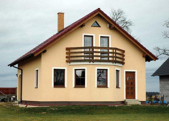 Zateplení rodinného domu v Domaníně u Třeboně