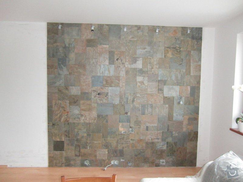 Obklad stěny za TV: stena