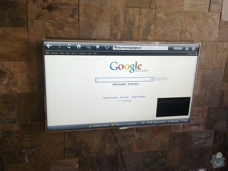 Obklad stěny za TV: TV