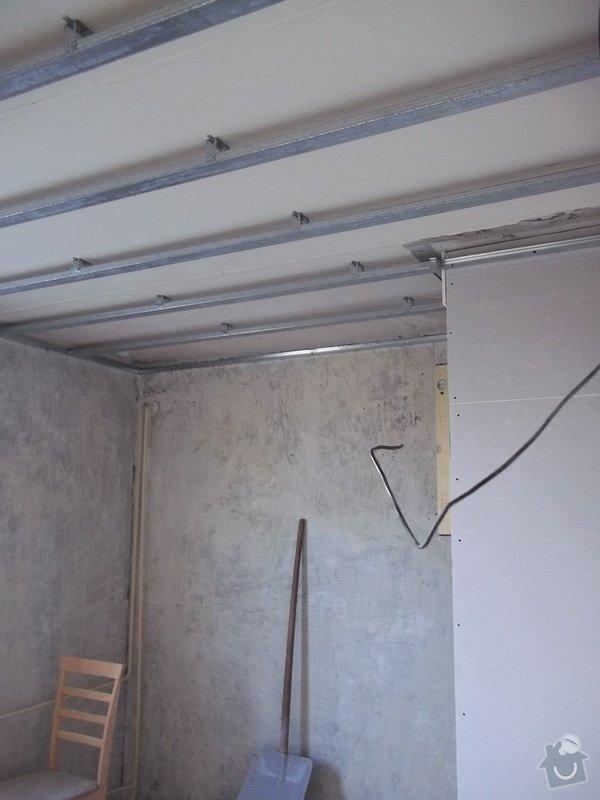 Příčky a stropy v bytě 4+kk: 104_0828