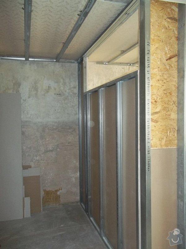 Příčky a stropy v bytě 4+kk: 104_0847