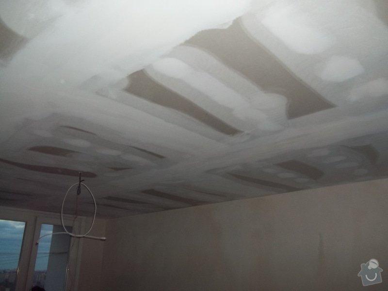 Příčky a stropy v bytě 4+kk: 104_1037