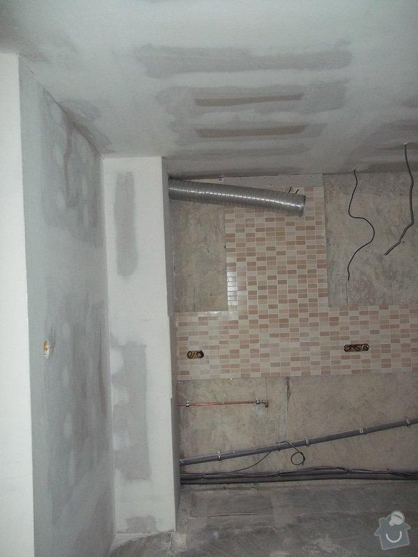 Příčky a stropy v bytě 4+kk: 104_1046
