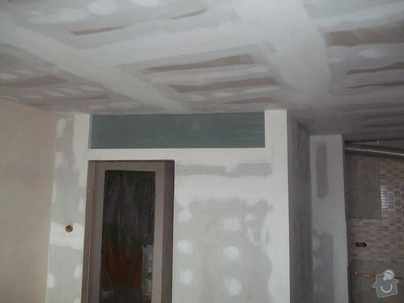 Příčky a stropy v bytě 4+kk: 104_1047