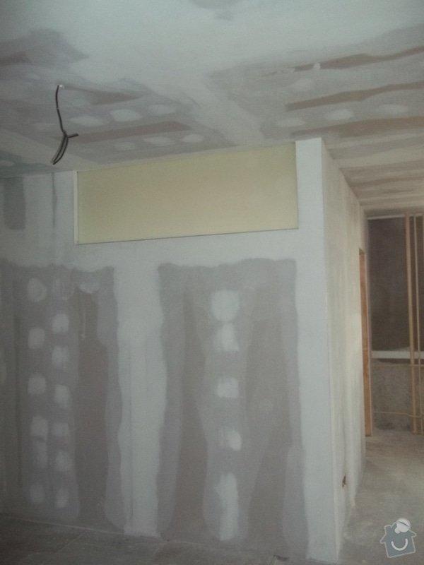 Příčky a stropy v bytě 4+kk: 104_1048