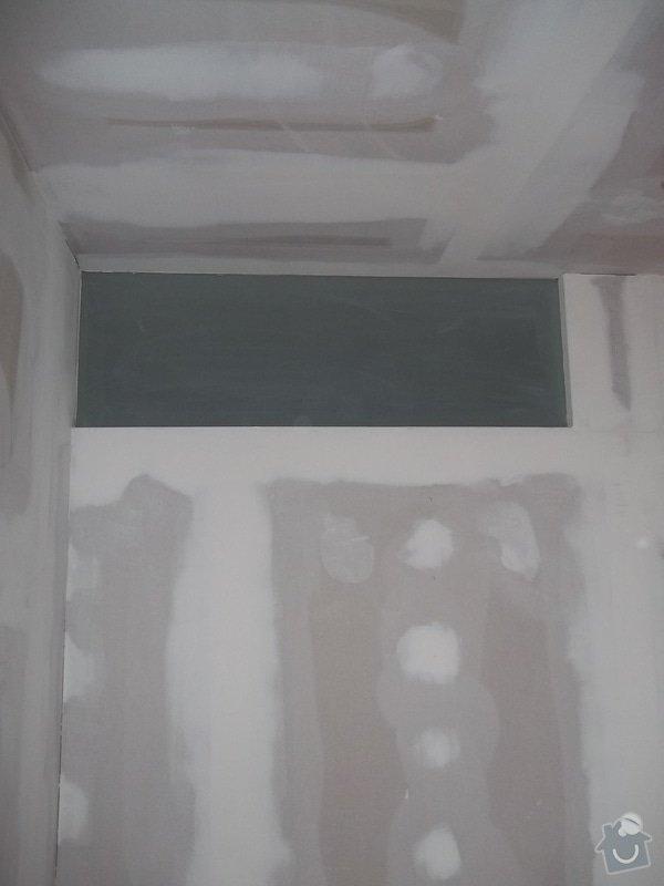 Příčky a stropy v bytě 4+kk: 104_1050