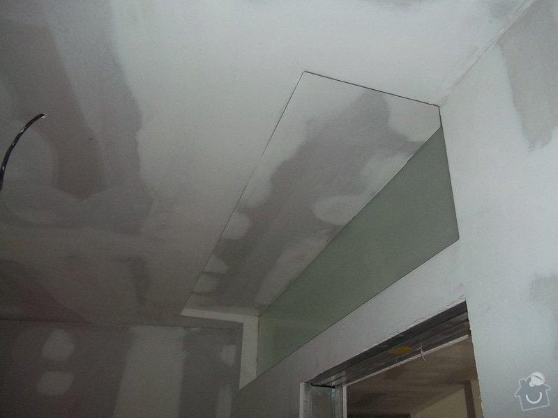 Příčky a stropy v bytě 4+kk: 104_1052