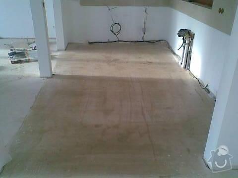 Pokládka VINYLOVÉ podlahy 10.5m2: Obraz038