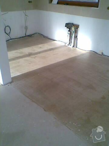 Pokládka VINYLOVÉ podlahy 10.5m2: Obraz039