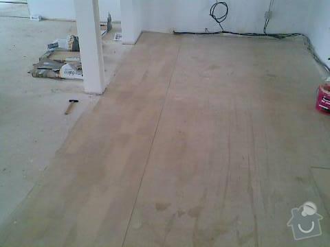 Pokládka VINYLOVÉ podlahy 10.5m2: Obraz040