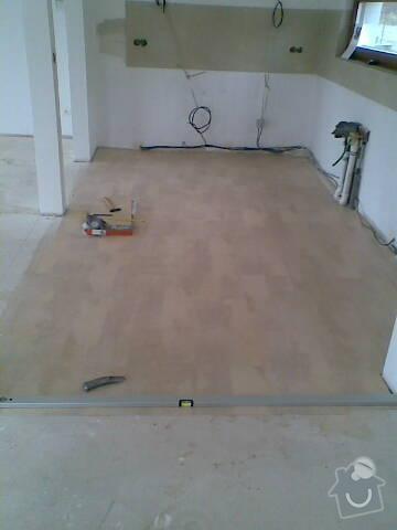Pokládka VINYLOVÉ podlahy 10.5m2: Obraz041