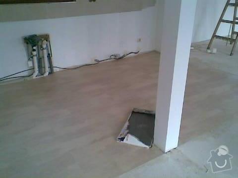 Pokládka VINYLOVÉ podlahy 10.5m2: Obraz047