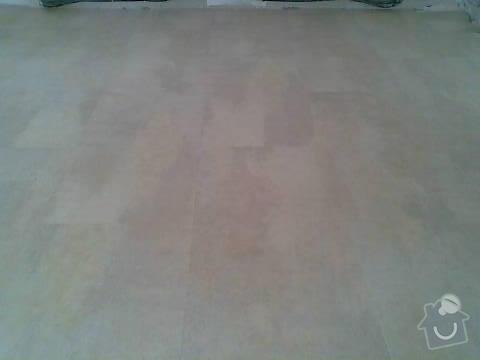 Pokládka VINYLOVÉ podlahy 10.5m2: Obraz045