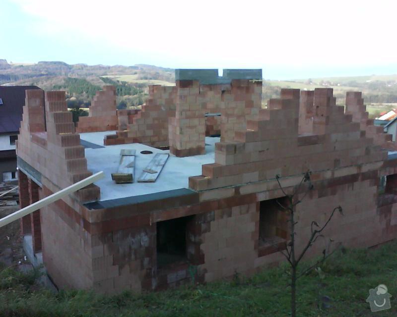 Realizace krovu na rodinném domě: DSC00199