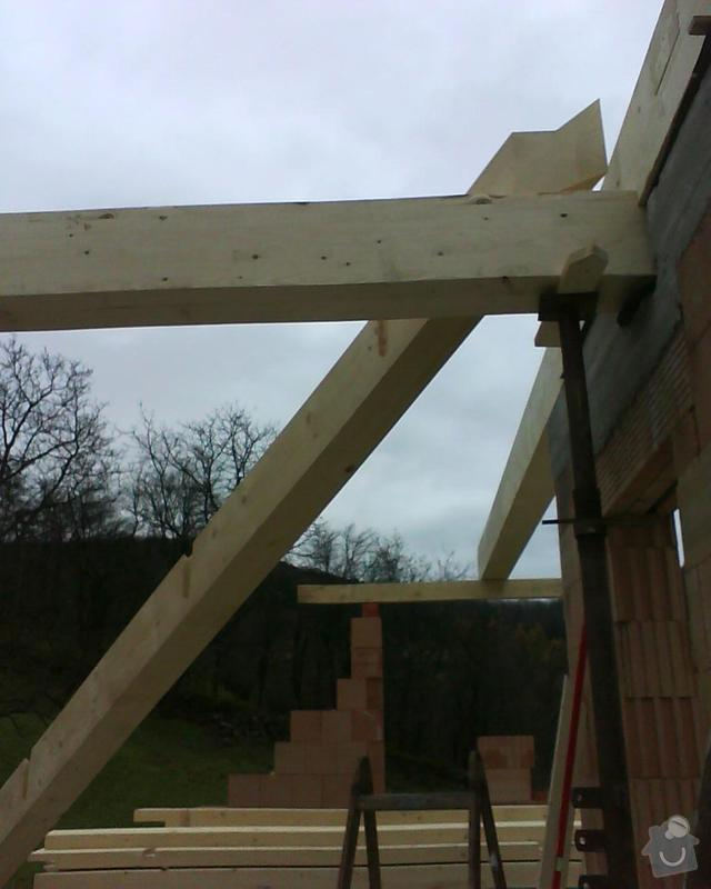 Realizace krovu na rodinném domě: DSC00210