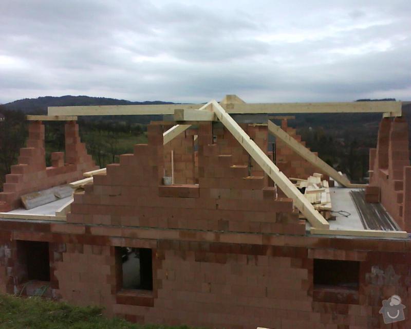 Realizace krovu na rodinném domě: DSC00212