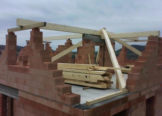 Realizace krovu na rodinném domě