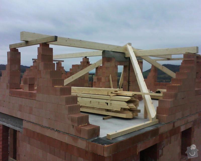 Realizace krovu na rodinném domě: DSC00213