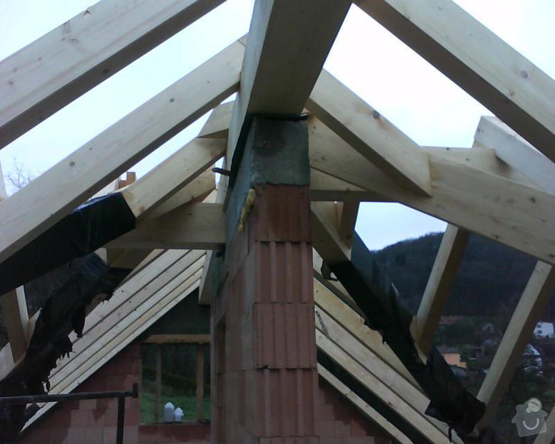 Realizace krovu na rodinném domě: DSC00229