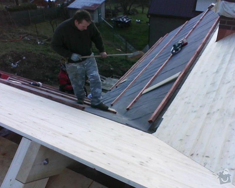 Realizace krovu na rodinném domě: DSC00230