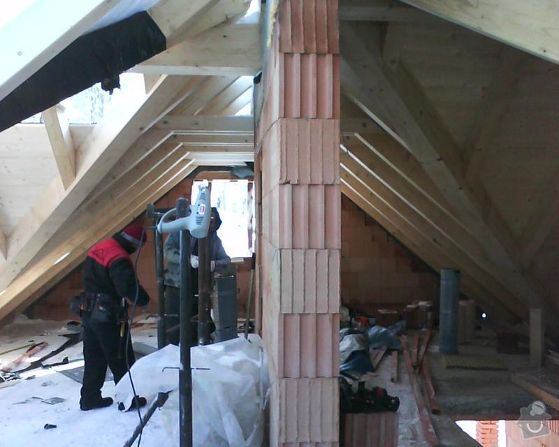 Realizace krovu na rodinném domě: DSC00233