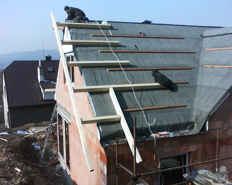 Realizace krovu na rodinném domě: DSC00278
