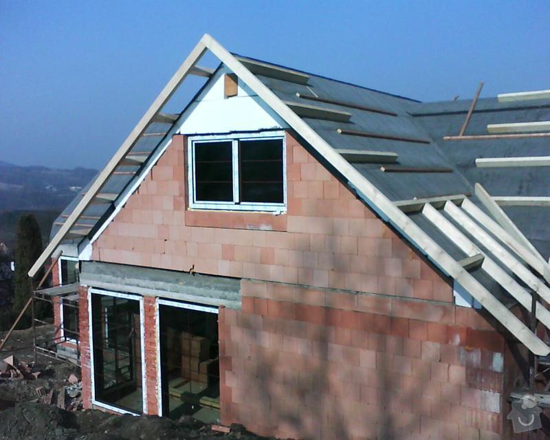 Realizace krovu na rodinném domě: DSC00280