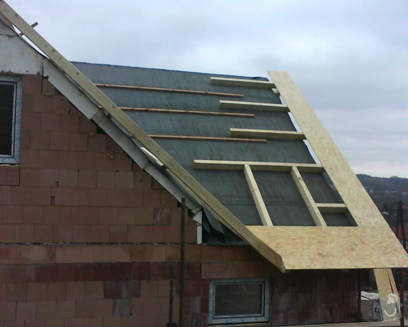 Realizace krovu na rodinném domě: DSC00284