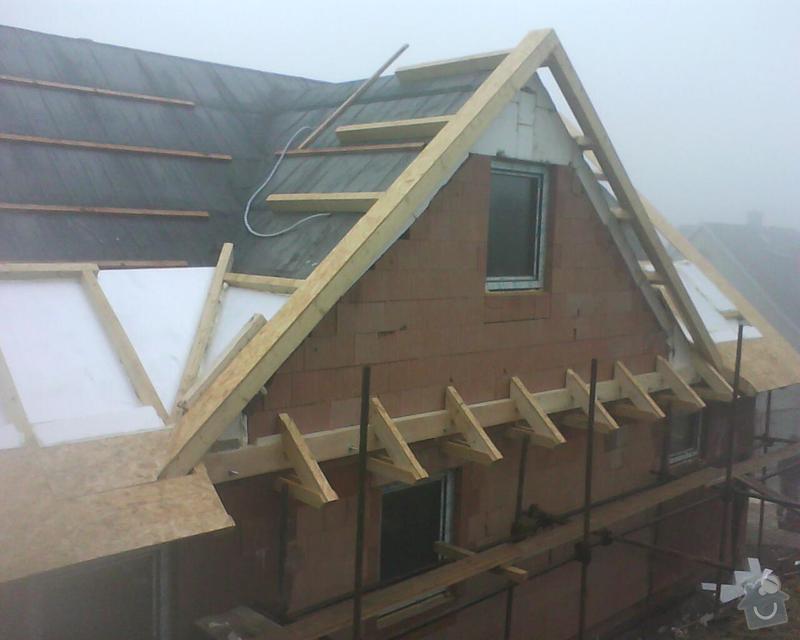 Realizace krovu na rodinném domě: DSC00294