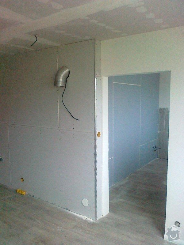 Sdk podhled-bodové světla,sdk předstěny,rozvod elektriky,vody a vzduchotechniky: sdk_voda_elektrika_038