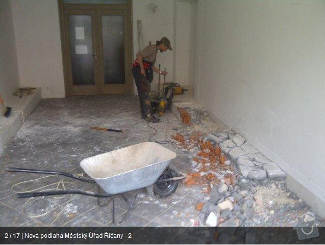 Podlaha MU Říčany: mu2