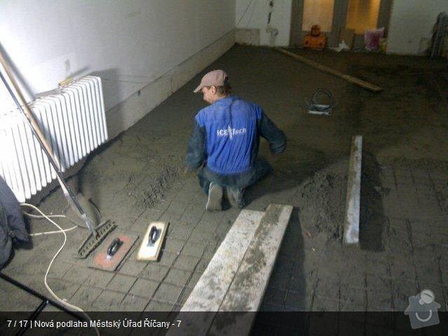 Podlaha MU Říčany: mu7