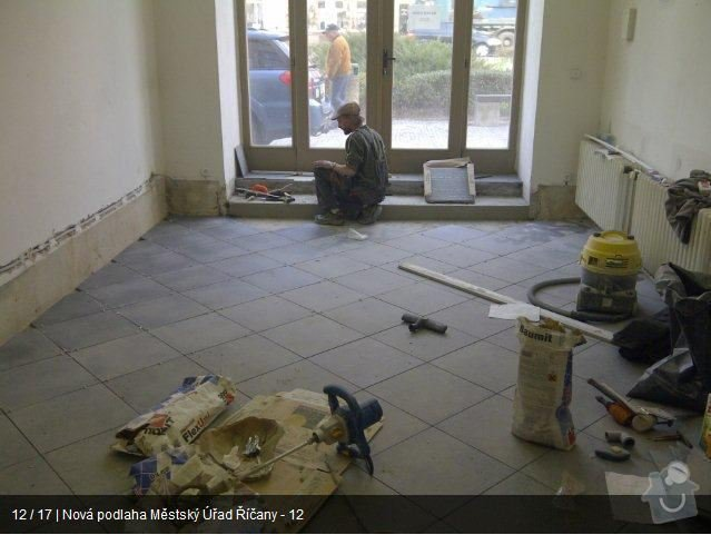 Podlaha MU Říčany: mu12