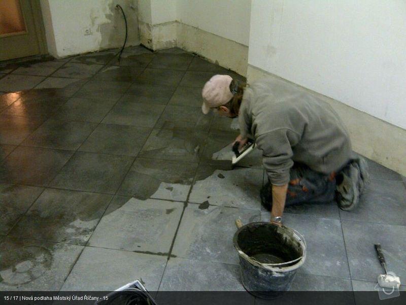 Podlaha MU Říčany: mu15