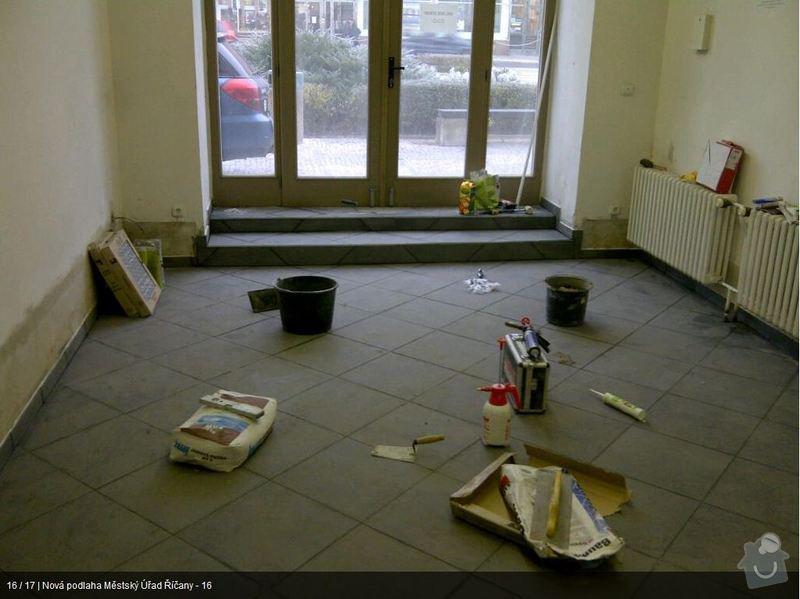 Podlaha MU Říčany: mu16