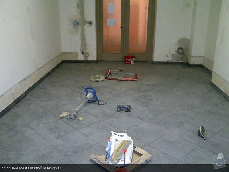 Podlaha MU Říčany: mu17