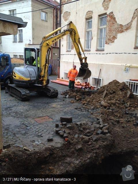 Oprava kanalizace MU Říčany: ka2