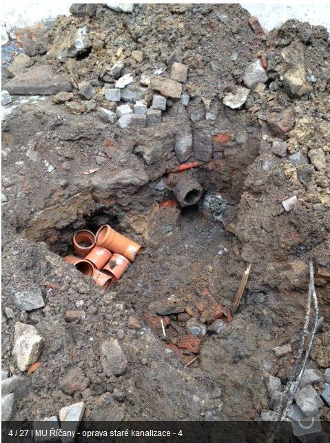 Oprava kanalizace MU Říčany: ka3