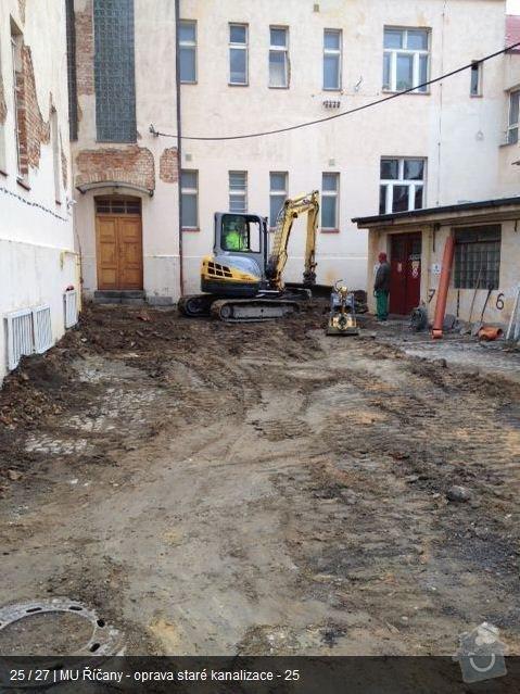 Oprava kanalizace MU Říčany: ka23