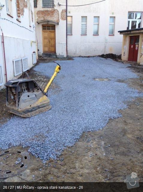 Oprava kanalizace MU Říčany: ka24
