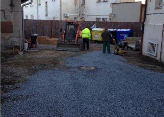 Oprava kanalizace MU Říčany