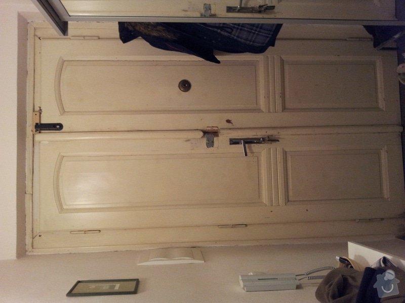 Rekonstrukci vchodových dveří: 20111220_002133