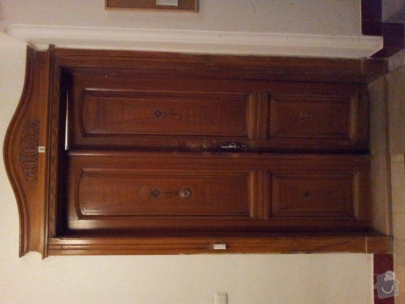 Rekonstrukci vchodových dveří: 20111220_173447