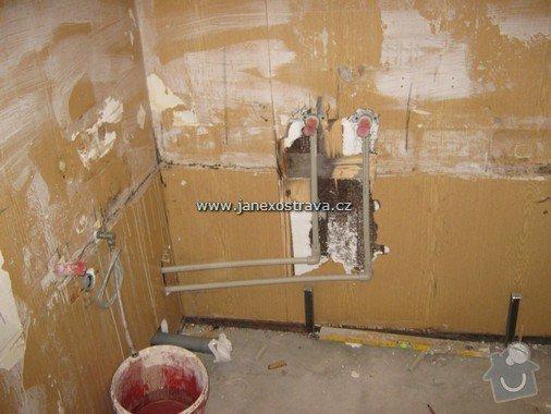 Rekonstrukce koupelny a WC: 3