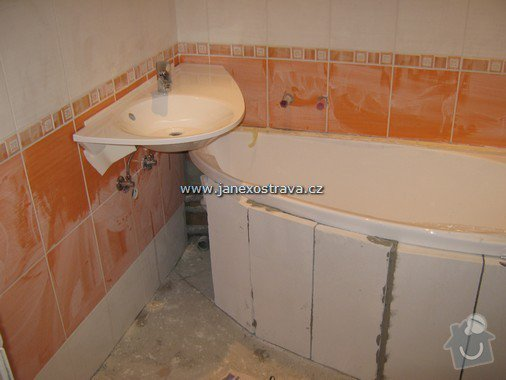 Rekonstrukce koupelny a WC: 8
