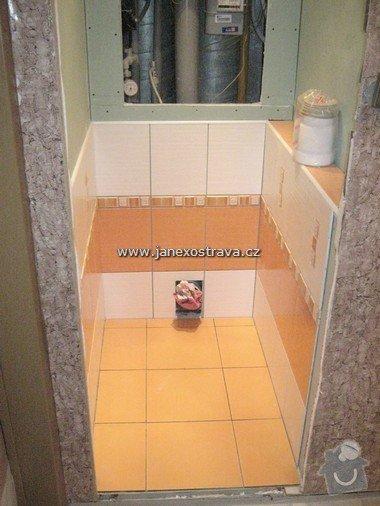 Rekonstrukce koupelny a WC: 11